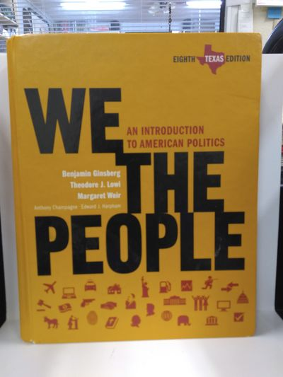 Image for We the People, Texas Edition: An Introduction to American Politics