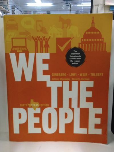 Image for We the People: An Introduction to American Politics