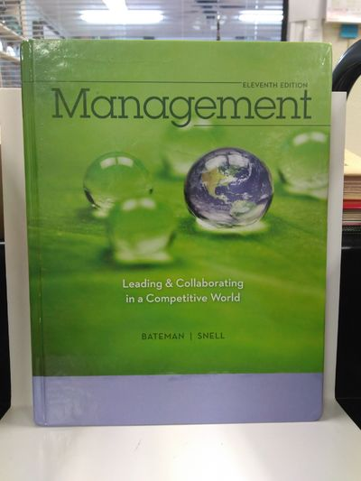 Image for Management: Leading  Collaborating in a Competitive World