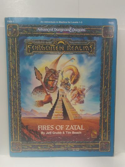 Image for Fires of Zatal (Advanced Dungeons  Dragons, 2nd Edition)