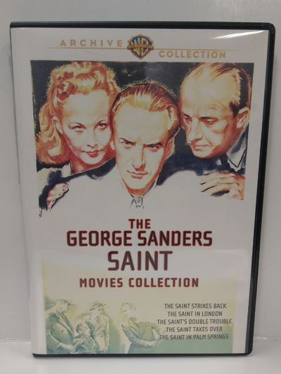 Image for The George Sanders Saint Movie Collection