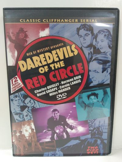 Image for DAREDEVILS OF THE RED CIRCLE CLIFFHANGER SERIAL DVD