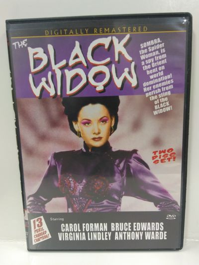 Image for The Black Widow DVD (Digitally Remastered)
