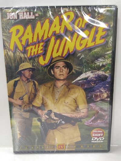 Image for Ramar Of The Jungle, Volume 8