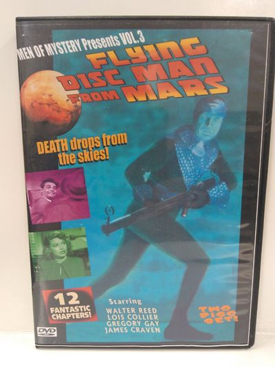 Image for Flying Disc Man From Mars 2 Disc Set