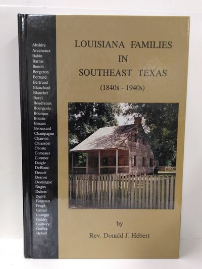 Image for Louisiana Families in Southeast Texas (1840's-1940's)