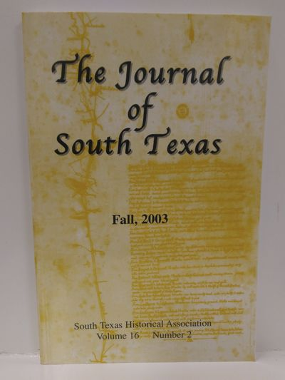 Image for The Journal of South Texas Volume 16 Number 2
