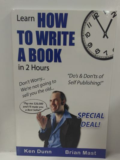 Image for Learn How to Write a Book in 2 Hours
