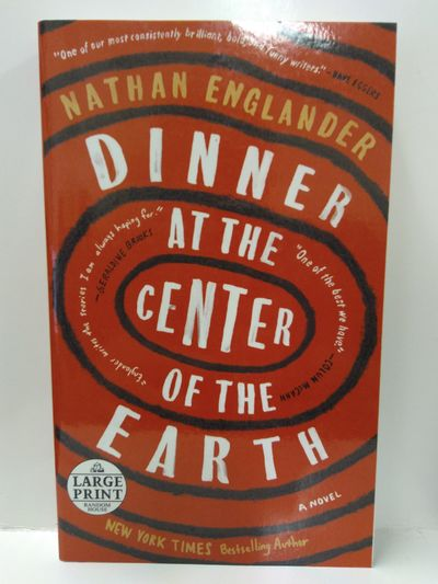 Image for Dinner at the Center of the Earth: A Novel (Random House Large Print)