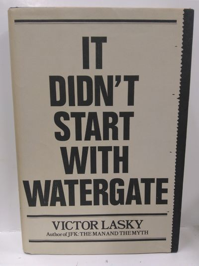 Image for It Didn't Start With Watergate