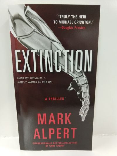 Image for Extinction:A Thriller