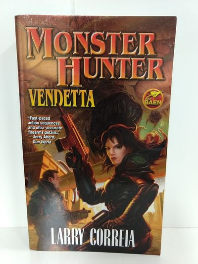 Image for Monster Hunter Vendetta (Baen Fantasy)