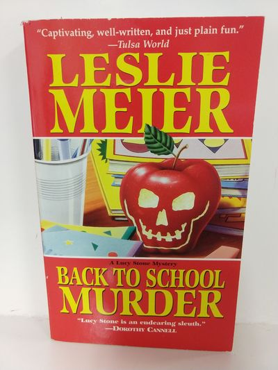Image for Back to School Murder (Lucy Stone Mysteries, No. 4)
