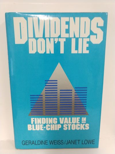 Image for Dividends Don't Lie: Finding Value in Blue Chip Stocks (SIGNED)