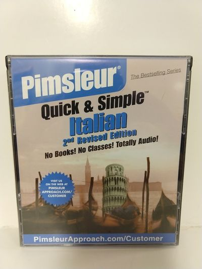 Image for Pimsleur ~ Quick & Simple Italian ~ (4) CD Set ~ (2nd Revised Edition)