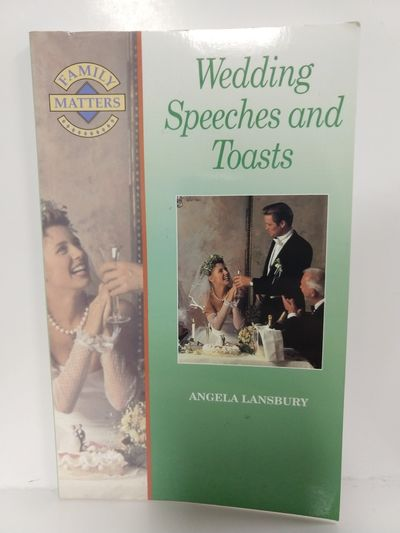 Image for Wedding Speeches and Toasts (Family Matters)