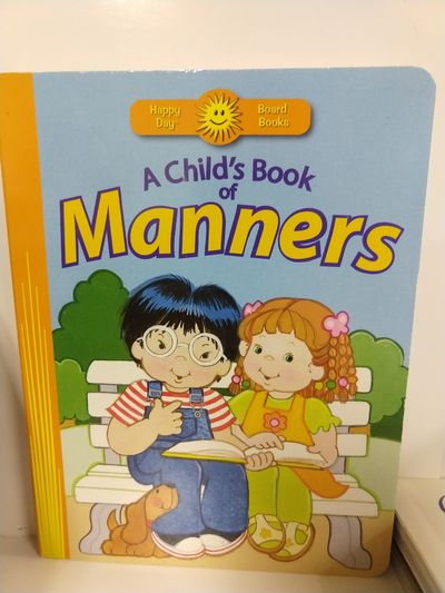Image for A Child's Book of Manners (Happy Day? Board Books)