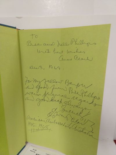 Image for Australian Adventure: Letters from an Ambassador's Wife (SIGNED)