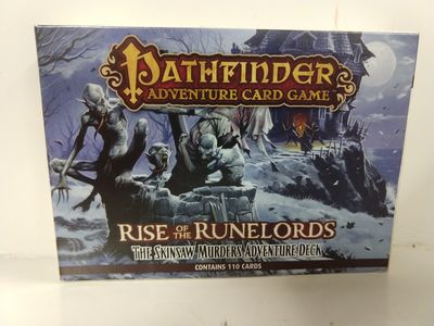 Image for Pathfinder Adventure Card Game: Rise of the Runelords Deck 2-the Skinsaw Murders Adventure Deck
