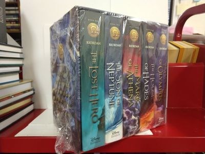 Image for The Heroes of Olympus Hardcover Boxed Set