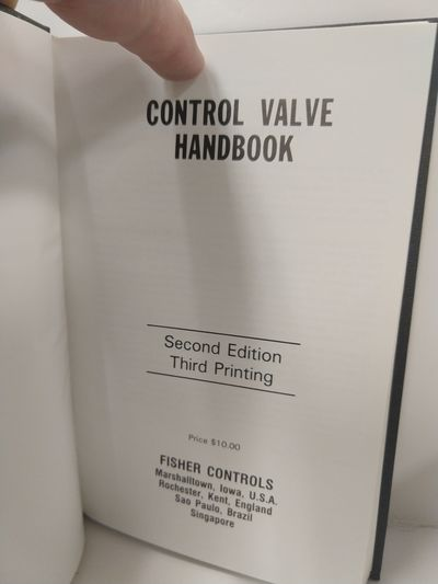 Image for Fisher Control Valve Handbook, Second Edition