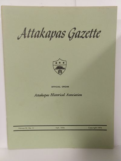 Image for Attakapas Gazette Fall 1976