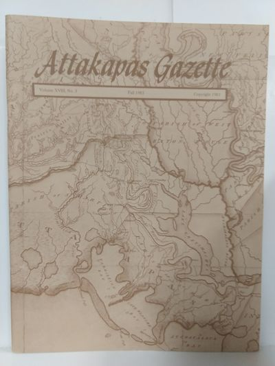 Image for Attakapas Gazette Fall 1983