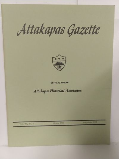 Image for Attakapas Gazette Winter 1980