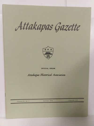 Image for Attakapas Gazette Summer 1979