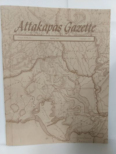 Image for Attakapas Gazette Spring 1983