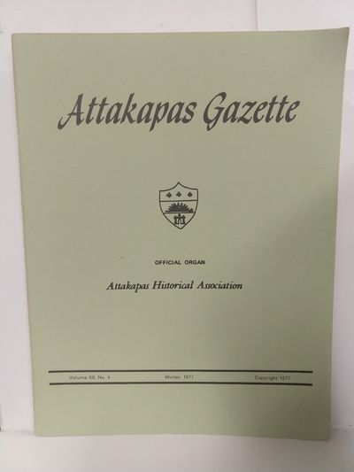 Image for Attakapas Gazette Winter 1977