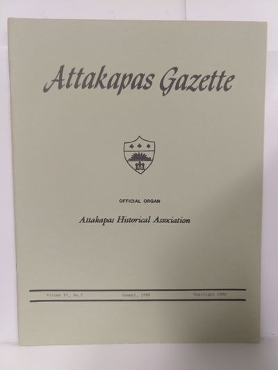 Image for Attakapas Gazette  Summer 1980