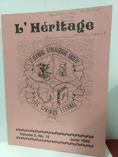 Image for L'Heritage Volume 5 No 19 June 1982