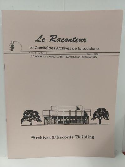Image for Le Raconteur Vol XII No 1 April 1992