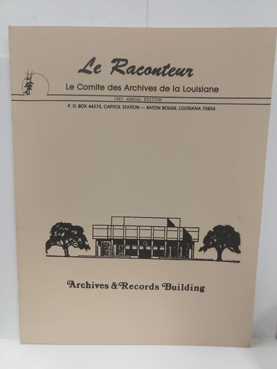Image for Le Raconteur 1987 Annual Edition