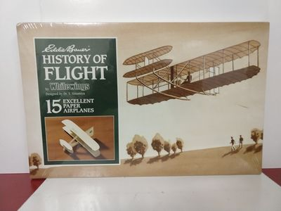 Image for Eddie Bauer History of Flight 15 Paper Airplanes