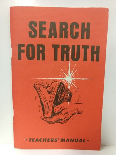 Image for Search for Truth Home Bible Study Course -- Teachers' Manual