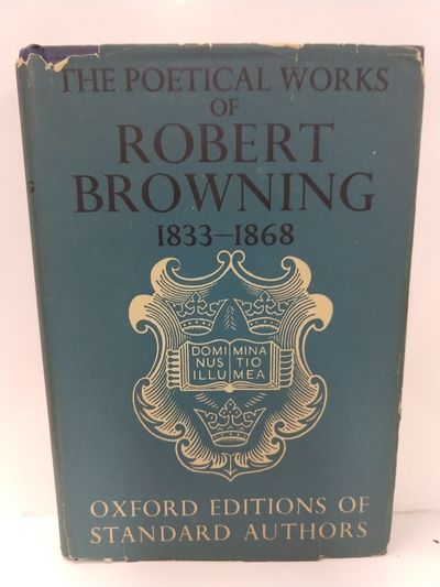 Image for The Poetical Works of Robert Browning 1833-1868