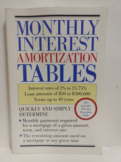 Image for Monthly Interest Amortization Tables