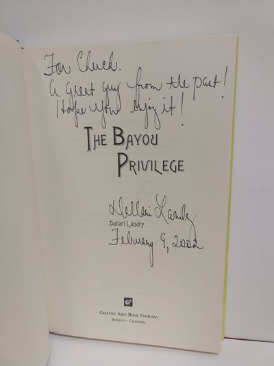 Image for The Bayou Privilege (SIGNED)