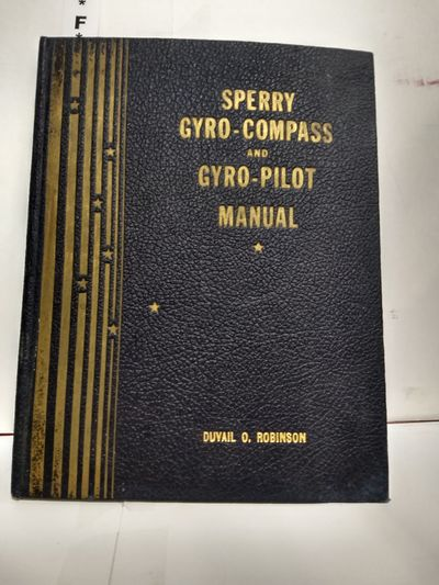 Image for Sperry Gyro-Compass and Gyro-Pilot Manual