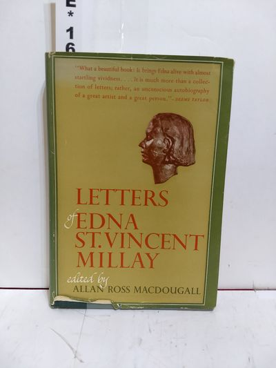Image for Letters of Edna St. Vincent Millay