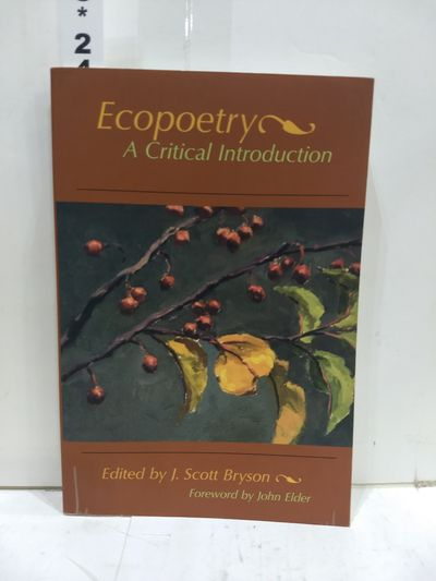 Image for Ecopoetry: A Critical Introduction
