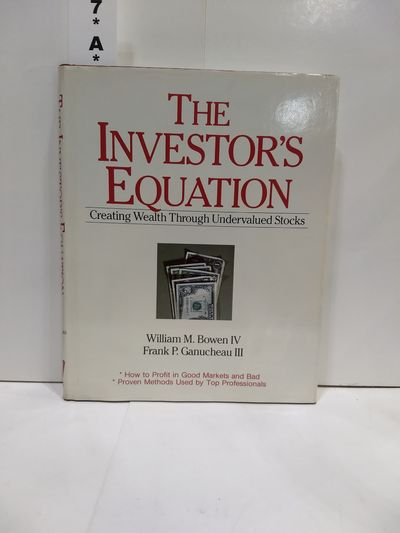 Image for The Investor's Equation: Creating Wealth Through Undervalued Stocks