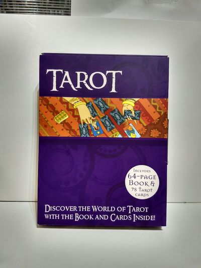 Image for The Easy Tarot Kit: 64 Page Book and 78 Cards Deck Set (Gift Box Set) Tarot Cards Collection