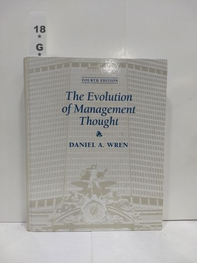 Image for The Evolution of Management Thought, 4th Edition