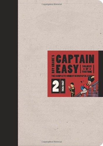 Image for Captain Easy, Soldier Of Fortune: The Complete Sunday Newspaper Strips 1936-1937 (Vol. 2)  (Roy Cran