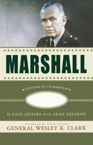 Image for Marshall : Lessons in Leadership