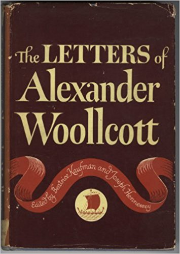Image for The Letters Of Alexander Woollcott
