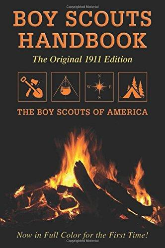 Image for Boy Scouts Handbook: Original 1911 Edition 1st edition by Boy Scouts of America (2012) Paperback